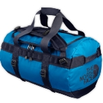 NORTH FACE TRAVEL BAG. BLUE.