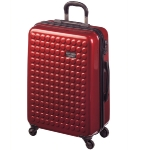 MYDOTDROPS CABIN SUITCASE. RED.