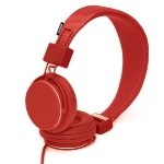 URBANEARS HEADPHONES. RED.