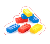 MINI SAVON LEGO. Donkey products