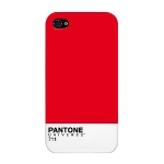 COQUE IPHONE 4 PANTONE. CASE SCENARIO. RED.