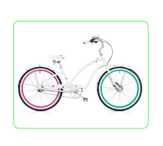 ROULEZ GIRLY, ELECTRA BIKE.