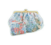 Floral printed pochette duo. Paul & Joe.