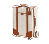 Suitcase « Grand Hôtel ». Lancel
