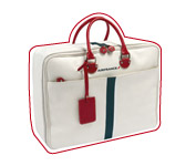 Soft material cabin suitcase. Jack Russel Malletier.