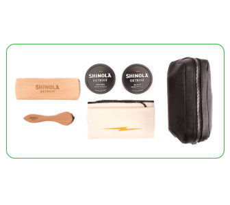 KIT FOR SHOES, Shinola.