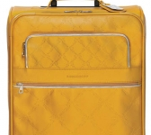 Longchamp leather cabin suitcase LM
