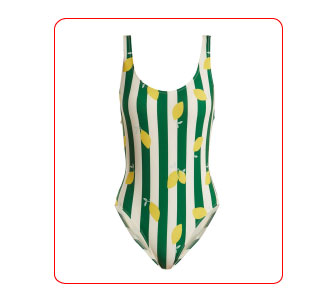 MAILLOT THE ANNE-MARIE, SOLID & STRIPED.