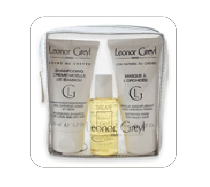 Travel-sized Hair-Care kit. Leonor Greyl