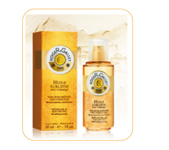 Amazing oils. Roget & Gallet