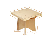 table pliable. Sugao-Essential design in Japan.