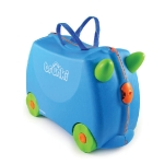 WHEELY SUITCASE. TRUNKI. Pulled easily by children, who can also be towed whilst sitting on it. http://www.trunki.co.uk