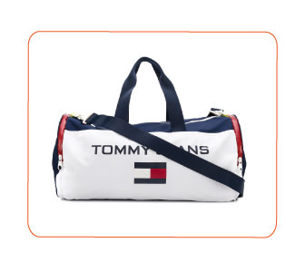 SAC TRICOLORE, TOMMY JEANS.