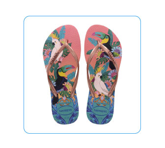 TONGS SLIM TROPICAL, HAVAIANAS .