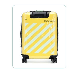 VALISE FLUO, OFF WHITE. de VIRGILE ABLOH