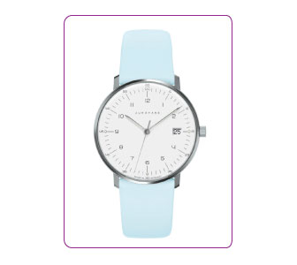 MONTRE AU DESIGN SIMPLE, JUNGHANS.