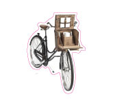Malle bicyclette. Moynat.