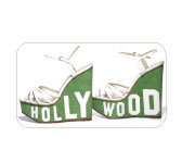 Hollywood wedge sandals. Charlotte Olympia.