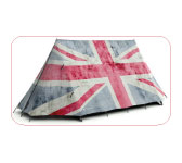 Rule Britannia Tent. Field Candy.
