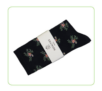 CHAUSSETTES DAISY, ROYALTIES PARIS.