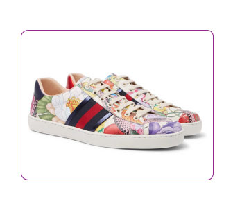 BASKETS MULTICOLORE, GUCCI.