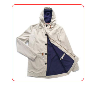 Men's wind-breaker by Tenue de Saison.