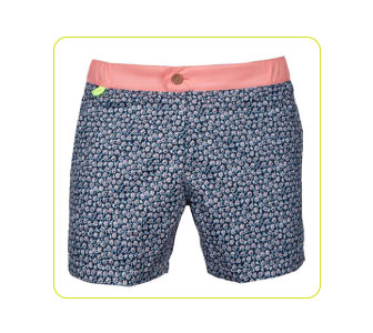 """Air"" Swimming Trunks by Gili's."