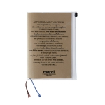 Planner. Merci. With a short dictionary of usual terms in 5 anguages and Tokyo, London, Paris subway maps. 19,50€. http://www.merci-merci.com