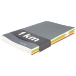 Notebook « 1 mile » lined to tell about your holidays. COUPLE D'IDEES. Consists of 4 notebooks. 40€ at Colette. http://www.colette.fr