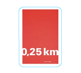 Notebook « 0,25 mile » lined to tell about your holidays. COUPLE D'IDEES.