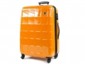 Caine suitcase. Snowball Vienne. Made from polycarbonate. 2.7 kg for 34 L. 53 cm. 75 €. www.mesbagages.com