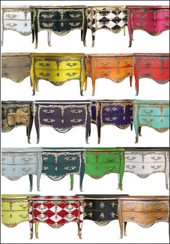 Collection commodes. Le Monde de Moissonnier avril 2016 PLUME VOYAGE. @plumevoyagemagazine © Moissonnier