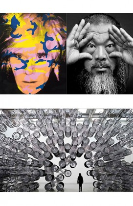 Andy Warhol-Ai Weiwei, National Gallery of Victoria, Melbourne. it's Now PLUME VOYAGE december 2015. @plumevoyagemagazine © National Gallery of Victoria