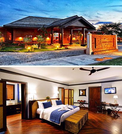 The Bagan Lodge Hotel, a new hotel in Myanmar