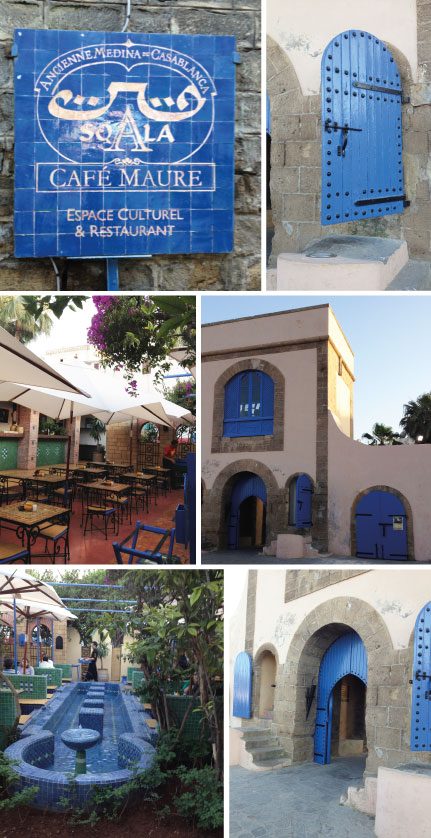 Casablanca, Morocco: Restaurant and cultural space Sqala
