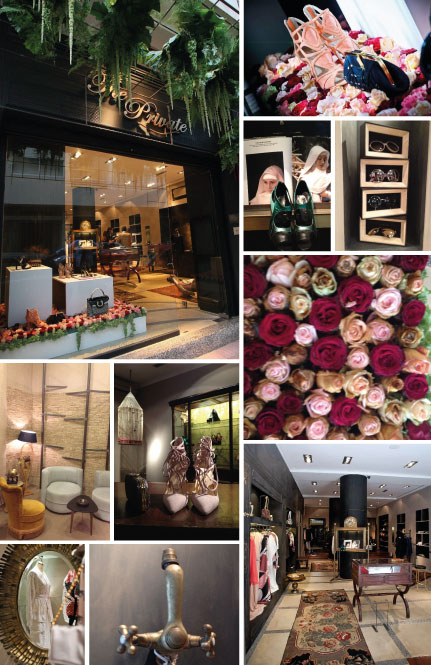 Casablanca, Maroc : Concept Store The Private © The Private (photos 1 & 2 de gauche à droite et de haut en bas)/ © Plume