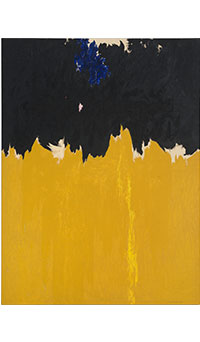 Clyfford Still Courtesy Clyfford Still Museum, Denver, Colorado. c'est maintenant février 2017 PLUMEVOYAGE @plumevoyagemagazine © City and County of Denver, VEGAP, Bilbao