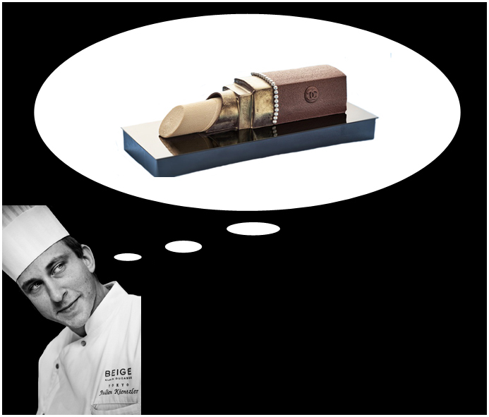 Christmas Log by Chanel + Alain Ducasse by Julien Kientzler. Courtesy of Beige Tokyo