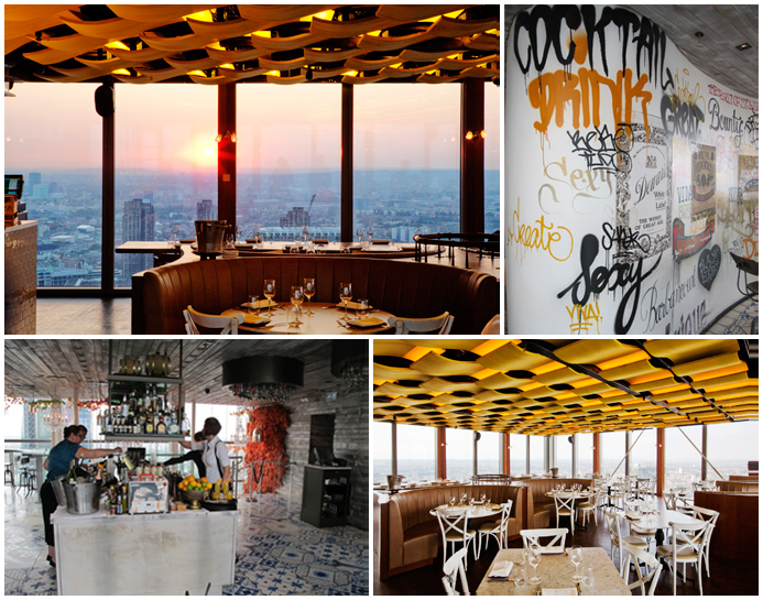 Duck & Waffle, London © Ludovic Bischoff