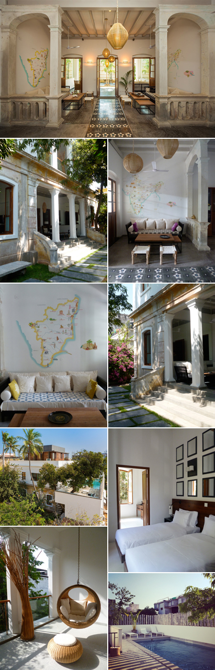 La Villa Pondicherry, Inde © Clara Le Fort