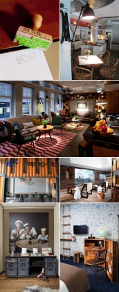 Photo1, 2 & 3: Henri Hotel, Hambourg. Courtesy of Henri Hotel Photo 4, 5, 6 & 7: 25Hour Hotel, HafenCity, Hambourg. Courtesy of 25Hour Hotel.