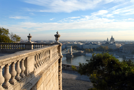 View from Palais Royal, Budapest. Courtesy of Incognito CoRP