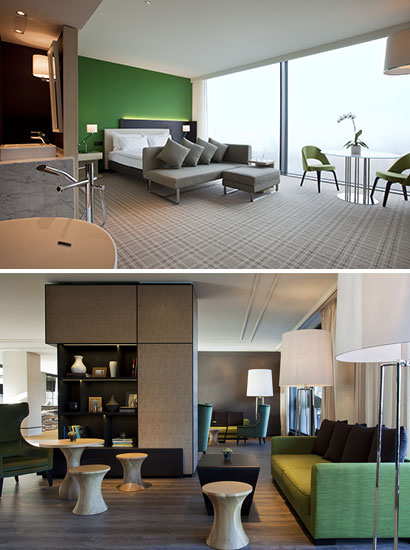 A totally renovated Crowne Plaza in Geneva.