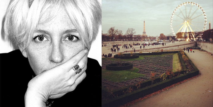 Photo 1: Portrait de Robin Meason, Copyright Miguel Villalobos. Photo 2: Paris, Copyright Robin Meason.