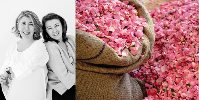 Photo 1 : AGNÈS ET FRANÇOISE COSTA © FRAGONARD PARFUMEUR, Photo 2 : Rose de mai © FRAGONARD PARFUMEUR