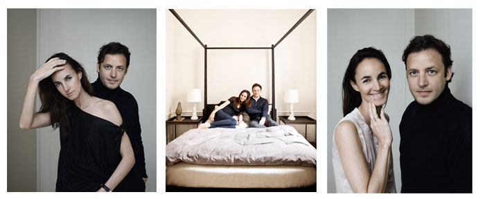 From left to right: Photo 1 and 3: Portraits of Patrick GILLES and Dorothée Boissier © P.Swirc and Photo 2: © M.Salvaing