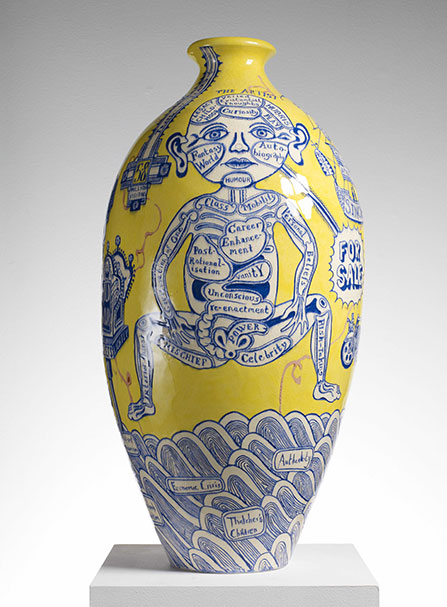 Grayson-Perry, The_Rosetta-Vase. it's now PLUME VOYAGE december-2015. @plumevoyagemagazine ©DR