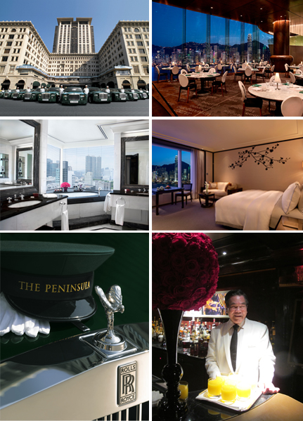 « I give myself go to the bar on the top floor of the Peninsula Hotel , a classic view over the bay of Hong Kong. » – Olivier Lébe, 'Repulse Bay' Photos © Peninsula