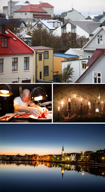 La scène gastronomique de Reykjavik est l'une des plus créative du moment. Photos par Ludovic Bischoff Photo 1 : Reykjavik Photo 3 : Fish Company photo 4: Reykjavik, photo © Office de tourisme d'Islande