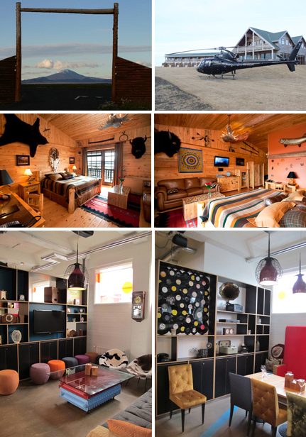 The Manira and Ranga Hotels are two of the most popular addresses in Iceland . Photos 5-6 © Hotel Marina Photos 1-4 © Hotel Ranga
